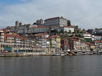 Nicolau Nasoni - Former Episcopal Palace of Porto overlooking the Ribeira in Porto