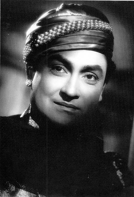 Portrait Ashok Kumar Actor