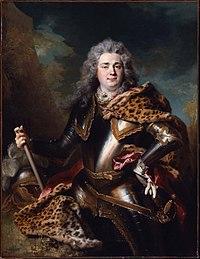 Portrait of Charles Armand de Gontaut, Duke of Biron (1714) by Nicolas de Largillière.jpg