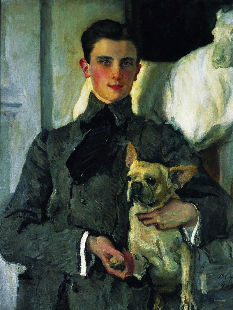 Portrait of Felix Yusupov (1903) by Valentin Serov