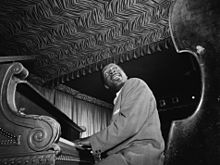 Errol Garner en plena interpretació