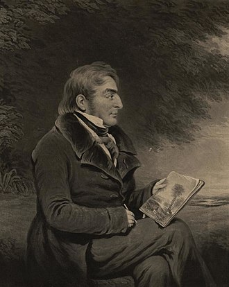 J. M. W. Turner - Image: Portrait of J. M. W. Turner, R.A. making his sketch for the celebrated picture of Mercury & Argus (4674619)