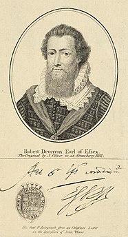 Robert Devereux Earl of Essex