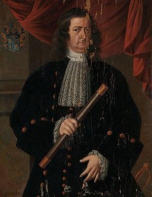 Christoffel van Swoll - Image: Portret van gouverneur generaal Christoffel van Swoll Rijksmuseum SK A 3772