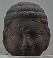 Possibly Buddha Head - Kushana Sculpture - Circa 2nd-3rd Century AD - Mathura - Uttar Pradesh - Indian Museum - Kolkata 2012-11-16 2090.JPG