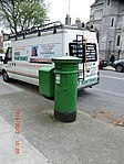 Postboxes in Ireland are all Green - panoramio.jpg