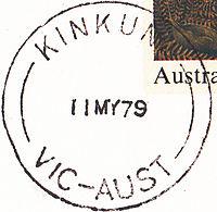 Postmark Kinkuna Victoria