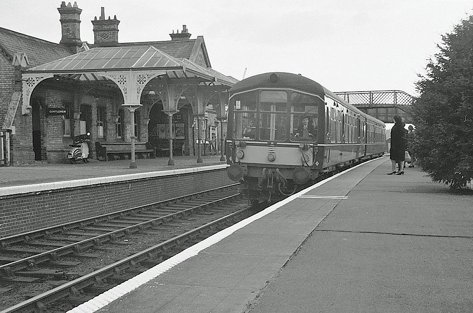 Potton Station 1967