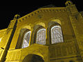 Powell Library at night.jpg
