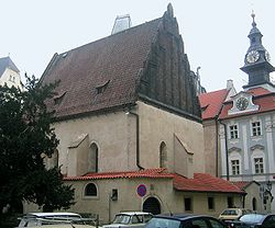 Built around 1270, the Old New Synagogue in Prague is the world's oldest active synagogue.