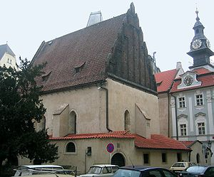 Judah Loew ben Bezalel - The Old New Synagogue, Prague where he officiated.