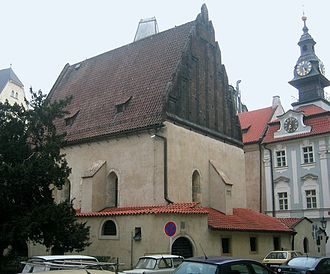 Judah Loew ben Bezalel - The Old New Synagogue, Prague where he officiated