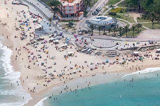 Pontal (Rio de Janeiro) beach in Rio de Janeiro