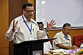 Pramod Kumar Jain Addressing - Opening Session - VMPME Workshop - Science City - Kolkata 2015-07-15 8536.JPG