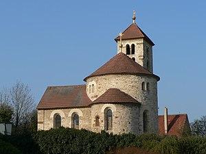 Romanesque rotunda in Predni Kopanina