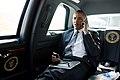 President Barack Obama talks on the phone with Aurora Mayor Steve Hogan.jpg