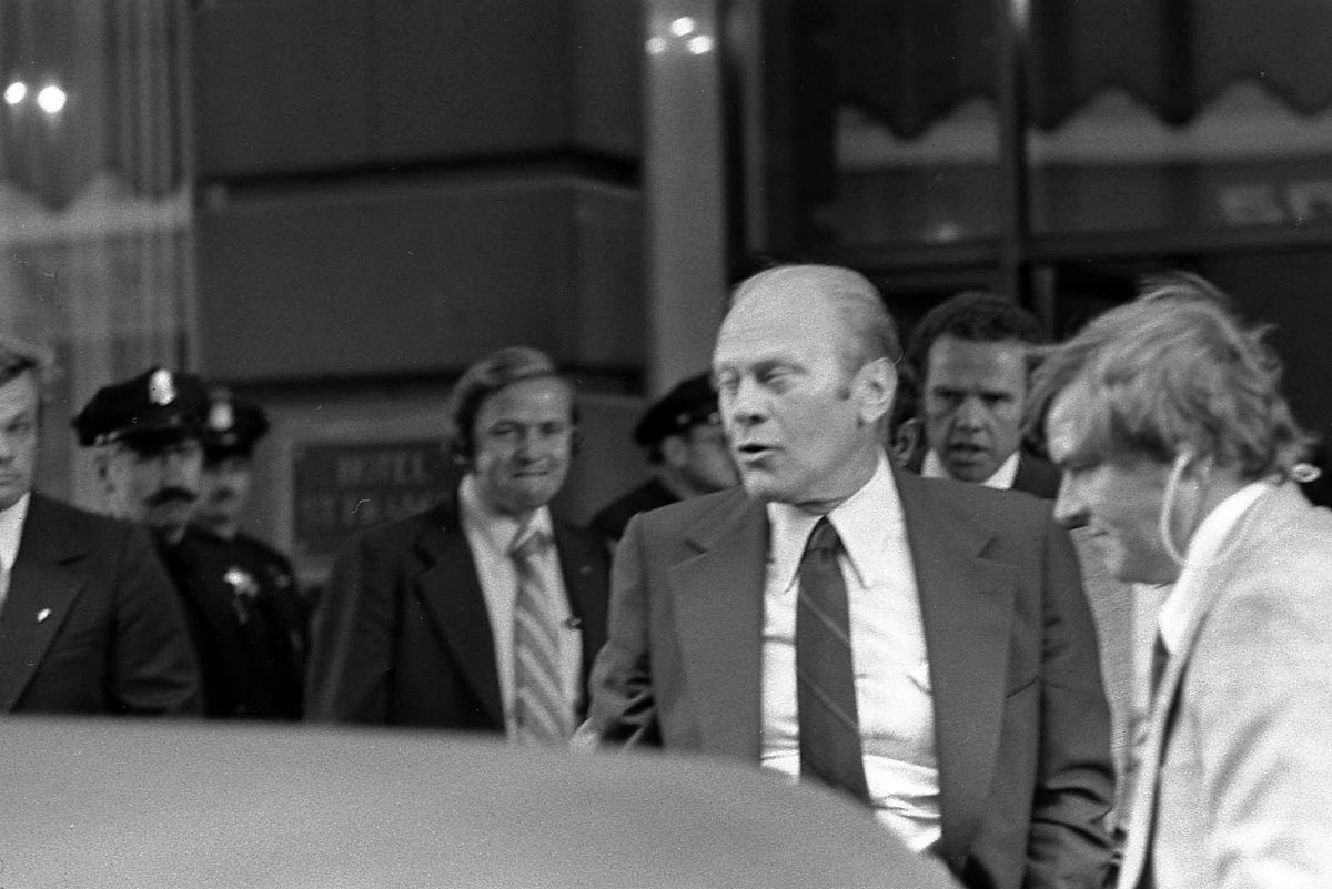 Gerald Ford Assassination Attempt In San Francisco Wikipedia