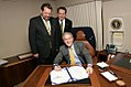 President George W. Bush Signs the Clean Boating Act of 2008.jpg