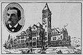 Preston School and Director C.B. Riddick in 1900.jpg