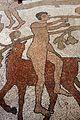 Prete pantaleone, mosaico del pavimento del duomo di otranto, 1163-1166, 13 uomo a cavallo.jpg
