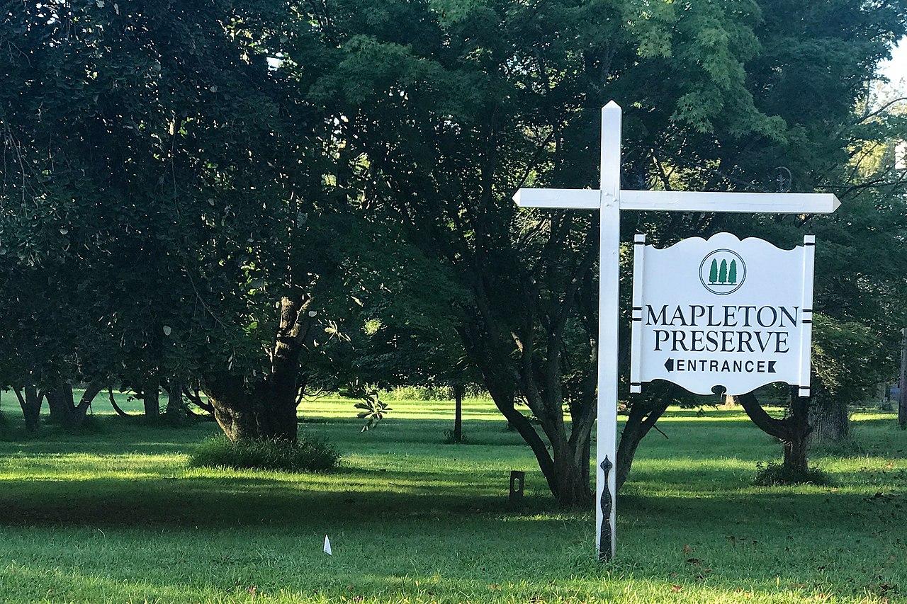 File Princeton Nurseries Middle County Nj Mapleton Preserve Sign Jpg