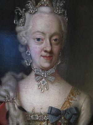 Princess Charlotte Amalie of Denmark - Portrait by Peter Wichmann