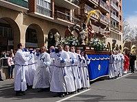 Procesion de la Borriquita de Domingo de Ramos de La Redonda Semana Santa de Logrono 2018 01.jpg