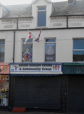Protestant Coalition - Party office on York Road, Belfast