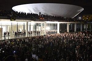 Protesto no Congresso Nacional do Brasil, 17 de junho de 2013.jpg
