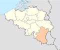 Province of Luxembourg (Belgium) location.svg