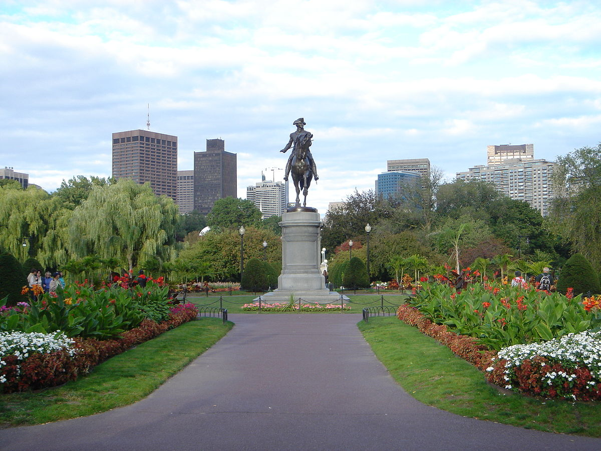 Public Garden Boston Wikipedia