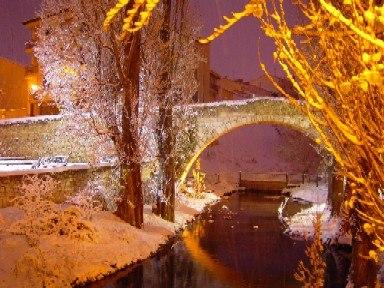 Puente romanico Aranda