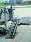 Puerto Rico — San Juan — Luis Muñoz Marín International Airport (gangway with slide).JPG