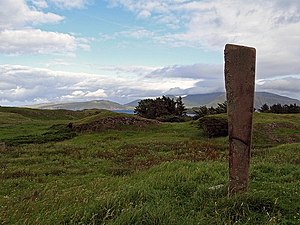 Canna, Scotland - The punishment stone