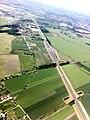 Punkt Poboru Opłat (PPO) Karwiany (widok z samolotu) - panoramio.jpg