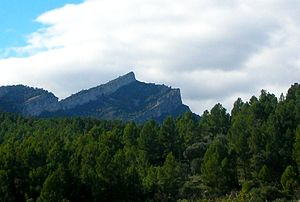 Serra de Paüls - Montsagre de Paüls
