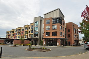 Puyallup, Washington - A modern condominium project near Pioneer Park.