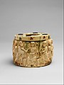 Pyxis with the Miracle of Christ's Multiplication of the Loaves MET DP153636.jpg