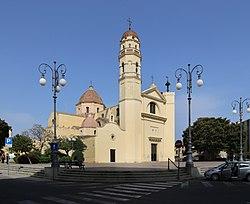 Quartu sant'elena, parrocchiale di sant'elena, esterno 01.jpg