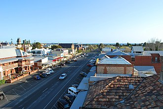 Queenscliff, Victoria - Hesse Street, the main street of Queenscliff