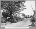 Queensland State Archives 3676 South approach first deliveries of fabricated steelwork to site Brisbane 1 July 1936.png