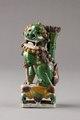 Rökelsehållare gjord i Kina i form av sittande manlig Fos hund - Hallwylska museet - 95437.tif