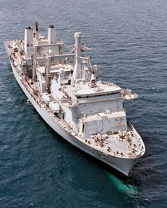 Fort Victoria-class replenishment oiler - Fort Victoria in 2003