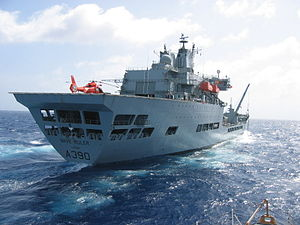 Wave-class tanker - Image: RFA Wave Ruler (A390)