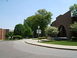 The campus of Rose-Hulman Institute of Technology.