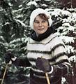 RIAN archive 16350 Tereshkova, skiing.jpg