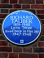 RICHARD TAUBER 1891-1948 Lyric Tenor lived here in flat 297 1947-1948.jpg