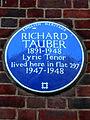 RICHARD TAUBER 1891-1948 Lyric Tenor lived here in flat 297 1947-1948.jpg