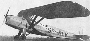 Josef František - A Polish RWD 8 aircraft