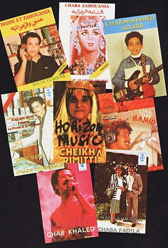Arabic music - A collection of 1980s Raï albums.